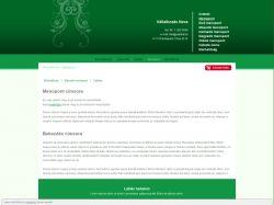 Lakberendezés 2 sablon (zöld)