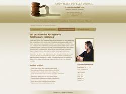 Ügyvéd 2 sablon